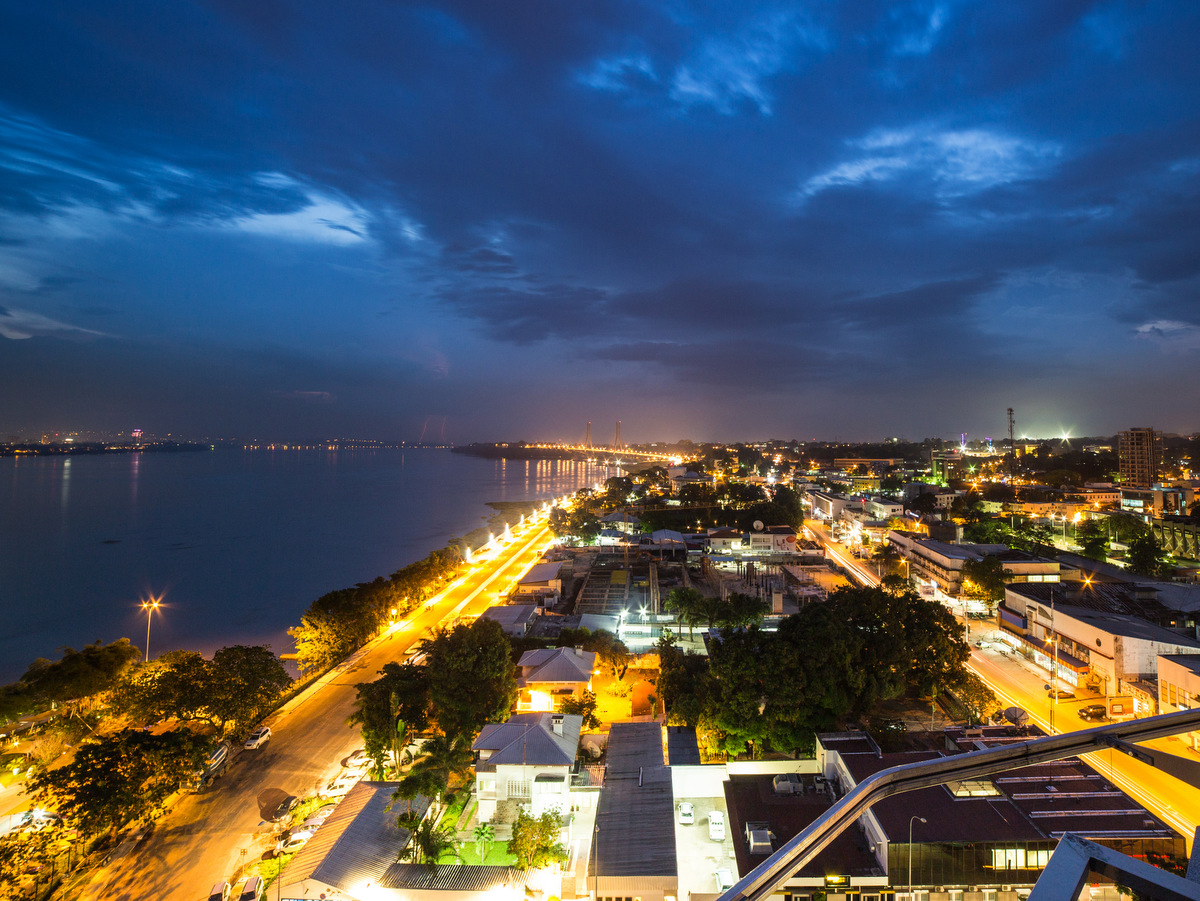 The city of Brazzaville