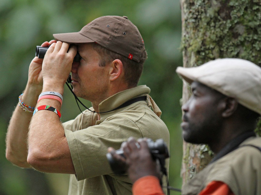 Bird watching with Africa Geographic