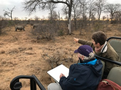 Art safari in Greater Kruger with Alison Nicholls and Africa Geographic