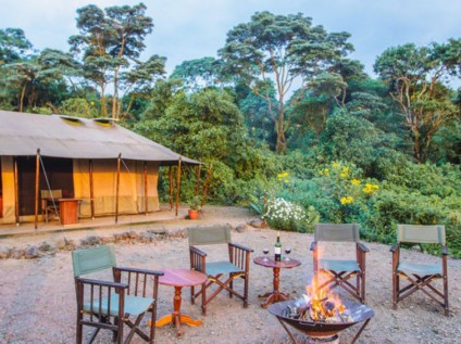 Bukima Tented Camp, Virunga National Park, DR Congo