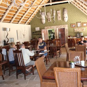 Bayete Guest Lodge, Victoria Falls, Zimbabwe - dining area