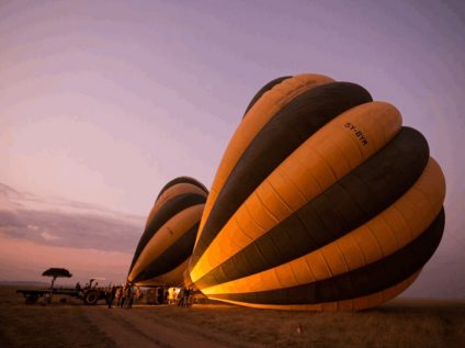 Serengeti Bushtop Camp, Tanzania - balloon safari