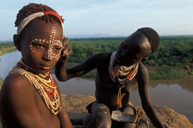 Visiting Ethiopian Tribes in the Omo Valley
